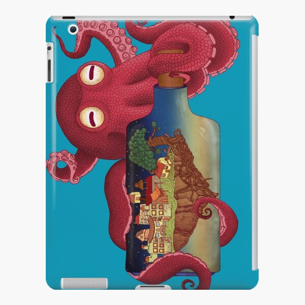 World in bottle: Atalantis (Octopus - monster) iPad Snap Case