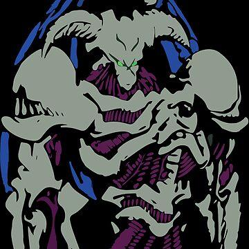 Yugioh Summoned Skull by lman32