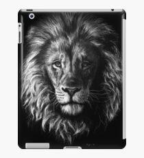 Löwenportrait iPad-Hülle & Klebefolie
