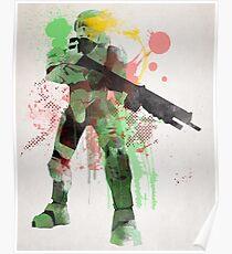Master Chief, Halo Art Print Poster
