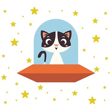 Space Kitty by MrD-Shirts