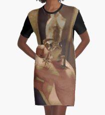 The playful gecko Graphic T-Shirt Dress