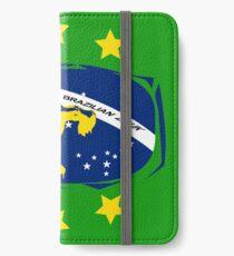 lets dance brazilian zouk flag color design iPhone Wallet/Case/Skin