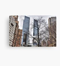 Lienzo Twin Towers At Columbus Circle