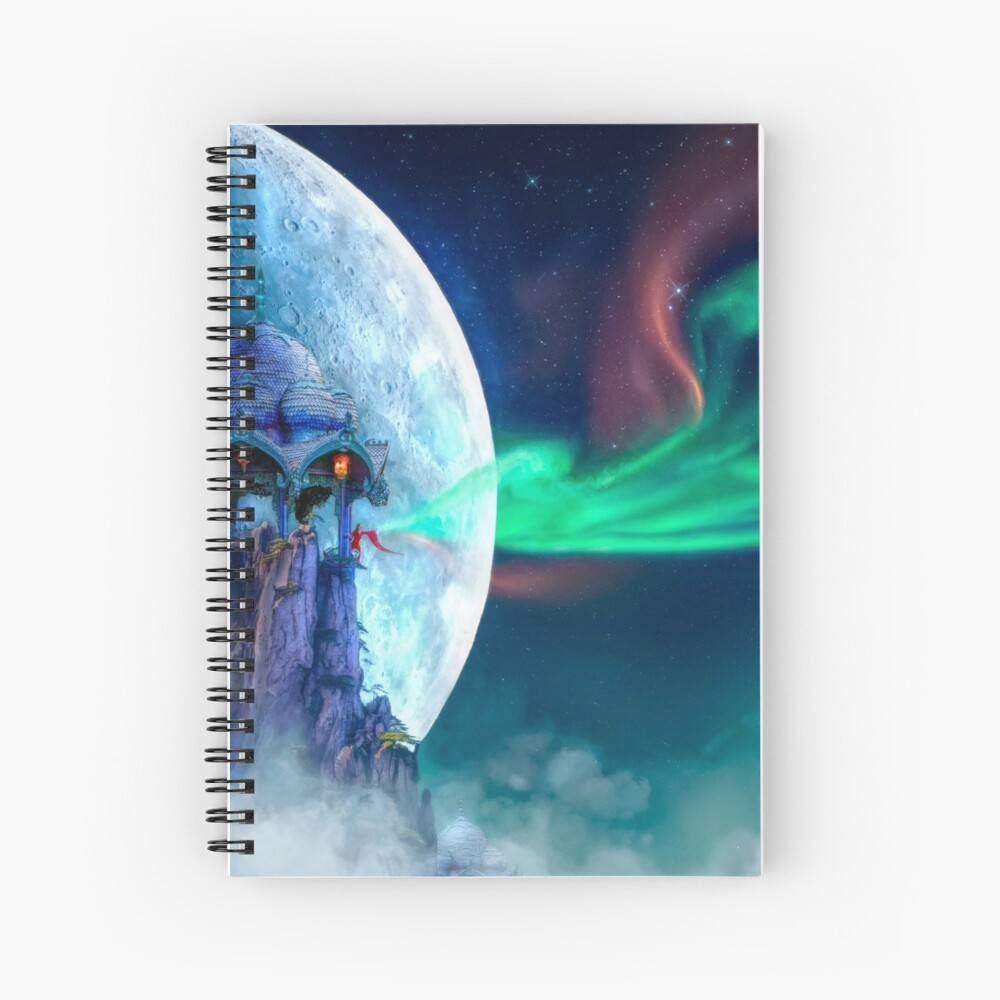 The Lightkeeper Spiral Notebook