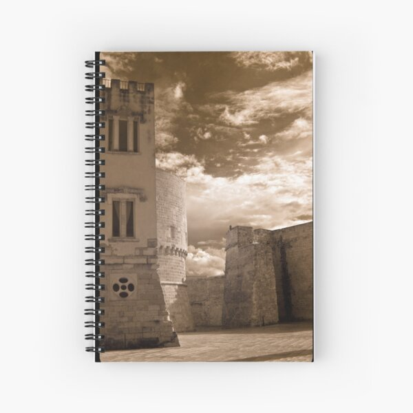 Castle Walls, Italy Spiral Notebook