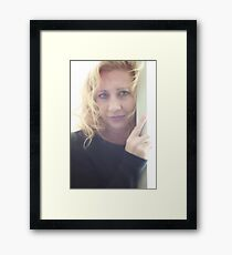 I Want You To Want Me Framed Print