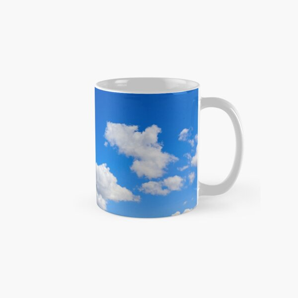 Blue Sky with summers clouds Classic Mug