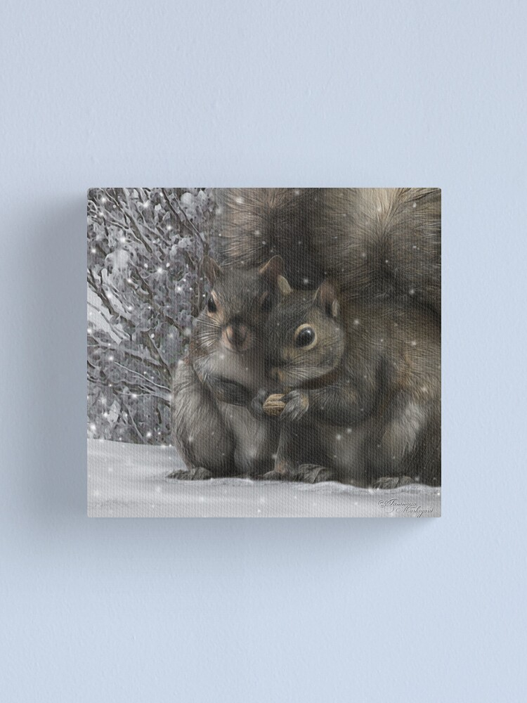 Alternate view of Chirp Canvas Print