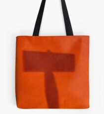 Orange T Tote Bag