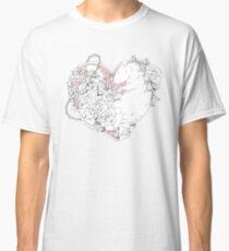 Camiseta clásica Rata del corazón