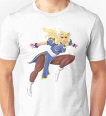 Sesame Street Fighter: Pig-Li Unisex T-Shirt