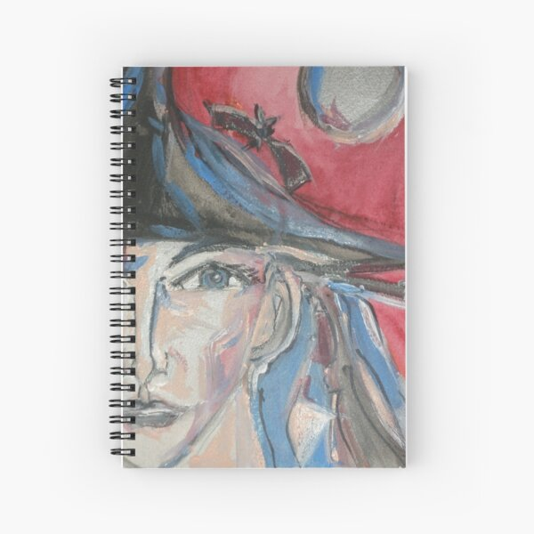 Pretty Witch  Spiral Notebook