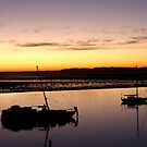 Bay sunset by eyes4nature