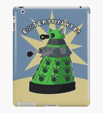 Green Kitty Dalek iPad Case/Skin