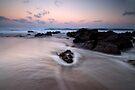 Onemana Sunset by Michael Treloar