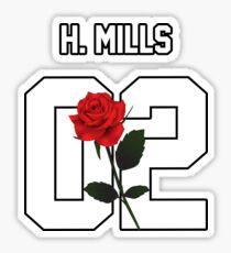 Harvey Mills - Rose Sticker