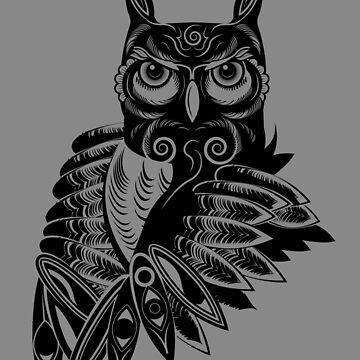 My Spirit Owl by Grafx-Guy