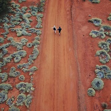 Fairytale Red Roads in the Outback  by The-Drone-Man