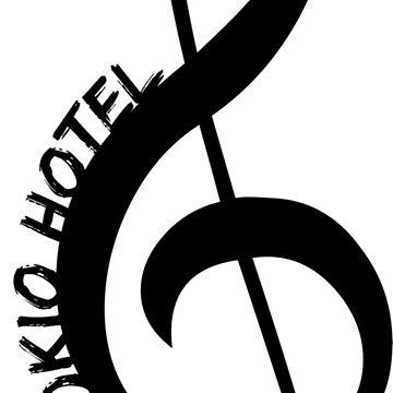 Clef - Tokio Hotel (black) by eileendiaries