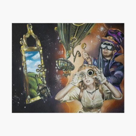 Out of this World Art Board Print