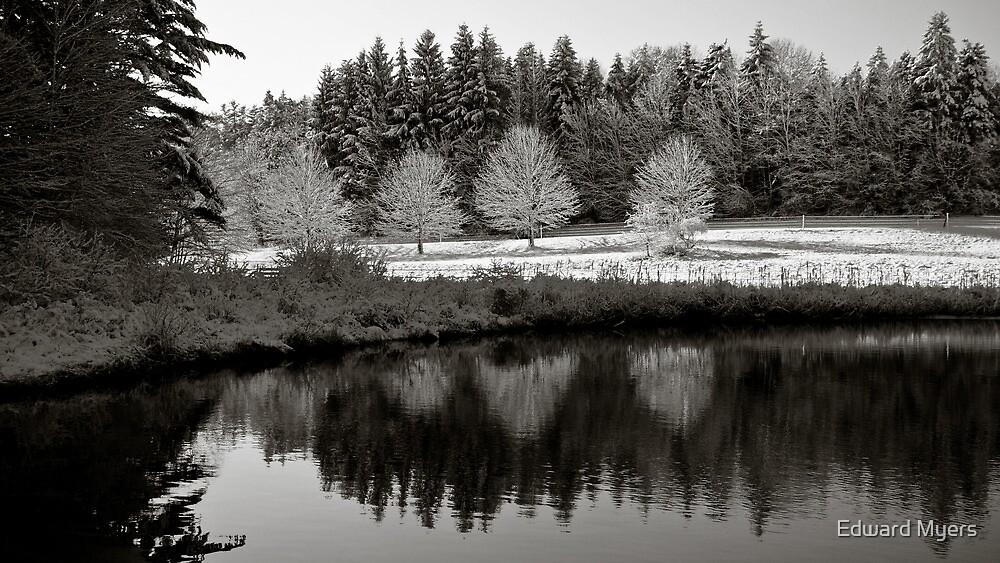 Winter Scene 3 by Edward Myers