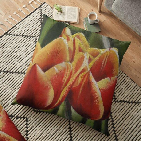 Tulips 2 Floor Pillow