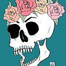 Pretty Pretty Skull by galacticdragon