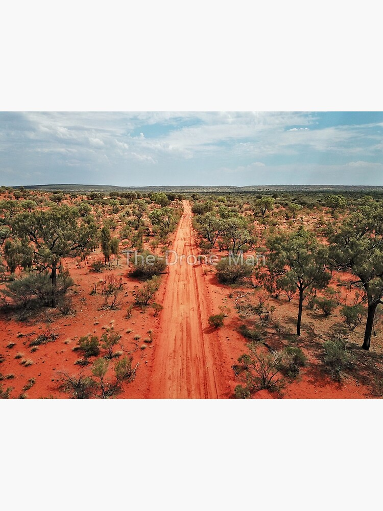 Red Centre Australian Outback | Aerial Print by The-Drone-Man
