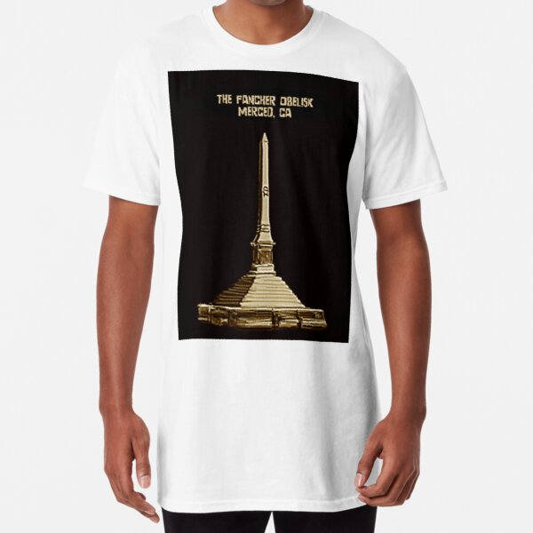 Fancher Obelisk, Merced, CA Long T-Shirt