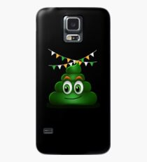 Poop Smile Smiley Funny St. Patrick's Day Gift Case/Skin for Samsung Galaxy