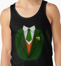 St. Patrick's Day Funny Suit and Tie Tuxedo Gift Tank Top