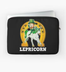 Lepricorn Unicorn St Patrick's Day Funny Gift Laptop Sleeve