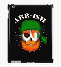Arr-Ish Irish Pirate St. Patrick's Day Funny Gift iPad Case/Skin