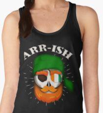 Arr-Ish Irish Pirate St. Patrick's Day Funny Gift Women's Tank Top