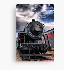 Locomotive in HDR Canvas Print