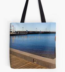 Cunningham Pier Tote Bag