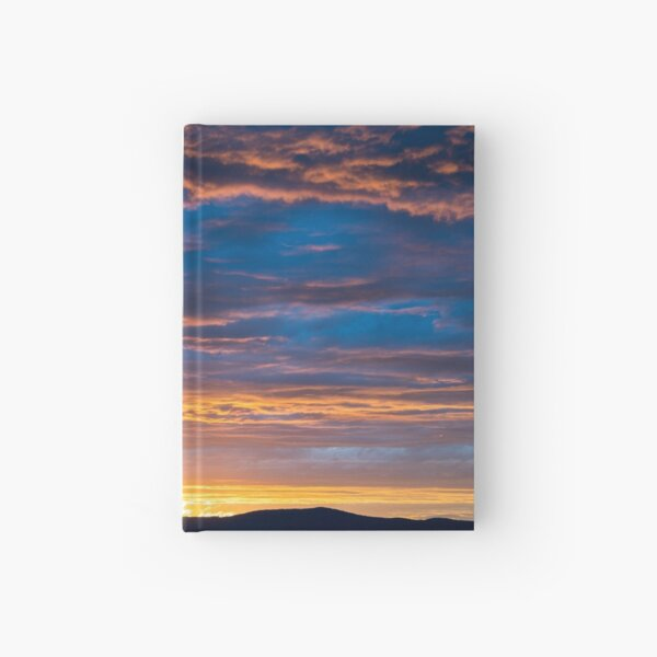 Gallatin Sunset Hardcover Journal