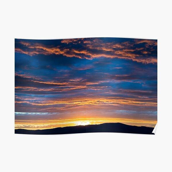 Gallatin Sunset Poster