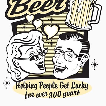 Vintage T-Shirts Beer by HannahTShirts