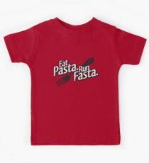 Eat Pasta. Run Fasta. Kids Tee