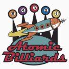 Vintage T-Shirts Billiards by Vintage Retro T-Shirts