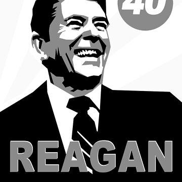 Reagan - 40 by Sarjex