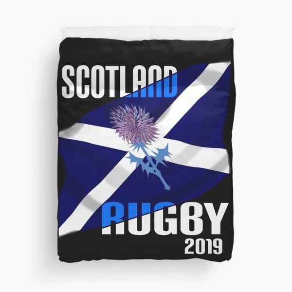 Tournoi d'Écosse de Rugby en équipe des 6 nations 2019 Housse de couette