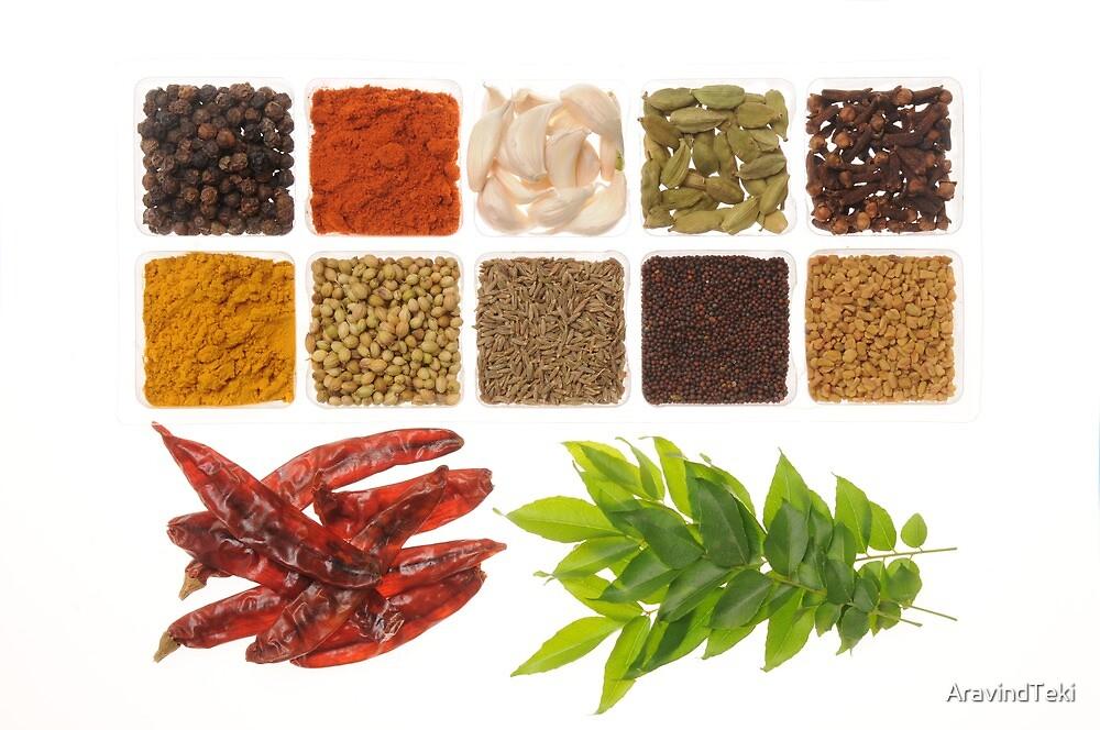 Spices by AravindTeki