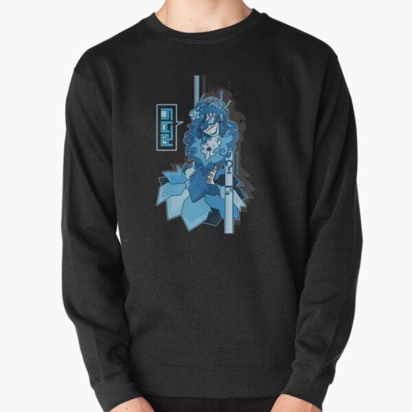 electric blue Pullover Sweatshirt
