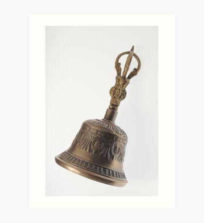 Buddha's Temple Bell Art Print