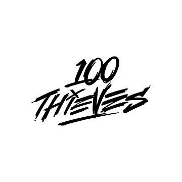 100 THIEVES LOGO by picksa
