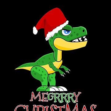 MERRY CHRISTMAS DINO CLAUS by rnarcio