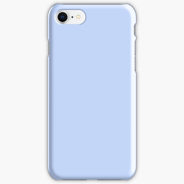 Periwinkle Blue Solid Color iPhone Snap Case